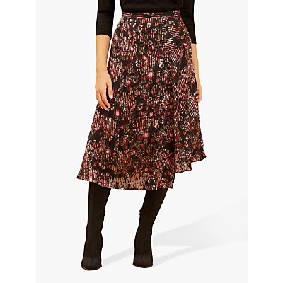 Fenn Wright Manson Floral Calla Skirt, Red Stripe