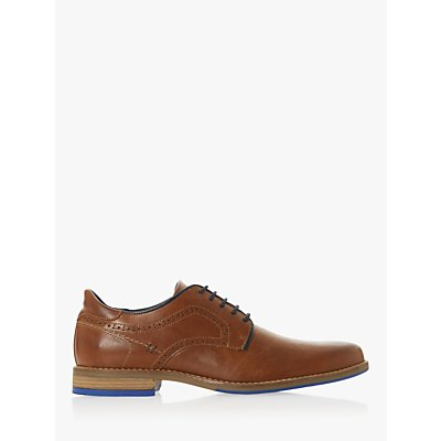 Dune Brampton Leather Derby Shoes, Tan