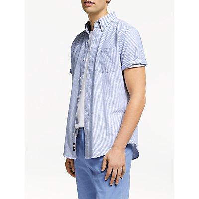 John Lewis & Partners Regular Fit Bengal Stripe Oxford Shirt
