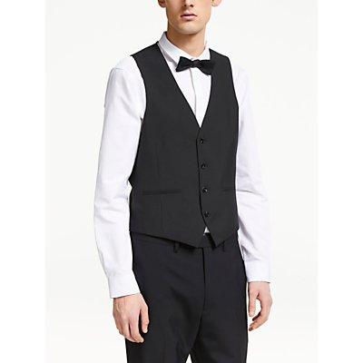 Kin Slim Fit Waistcoat, Black