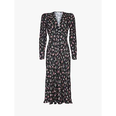 Ghost Birdie Floral Midi Dress, Leona Rose