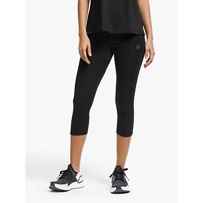 adidas Own The Run 3/4 Running Tights, Black