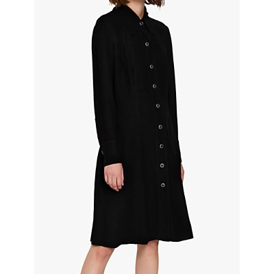 Ghost Elsie Shirt Dress, Black