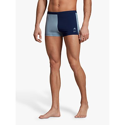 adidas Parley Hero Swim Boxers, Legend Ink/Tactile Blue