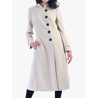 Jolie Moi Asymmetric Flare Coat