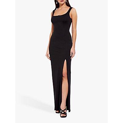 Adrianna Papell Lola Jersey Dress, Black