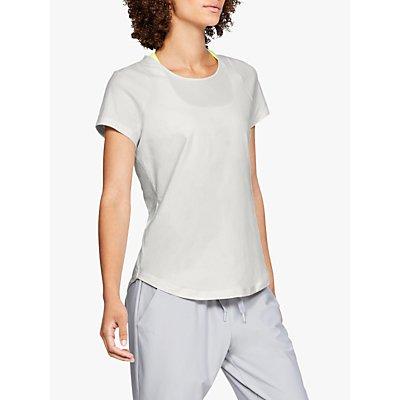 Under Armour Vanish Short Sleeve Top, White