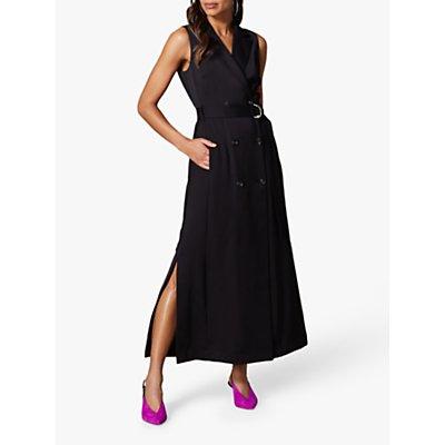 Karen Millen Tuxedo Maxi Dress, Black