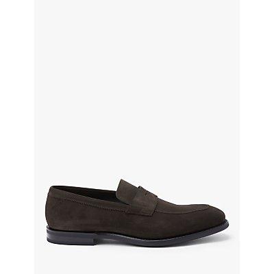 Church's Parham Suede Loafers, Ebony