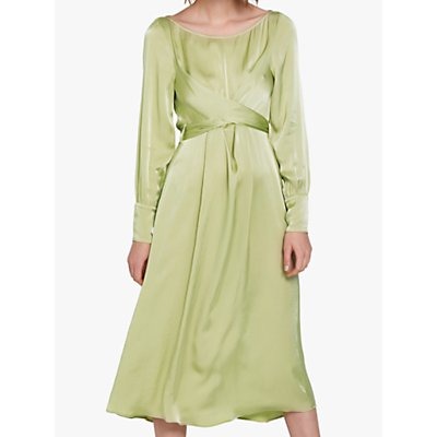 Ghost Cassie Dress, Chartreuse