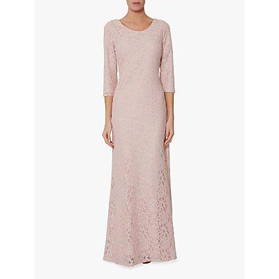 Gina Bacconi Jamie Lace Overlay Maxi Dress