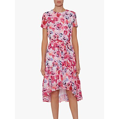Gina Bacconi Melora Floral Dress, Multi