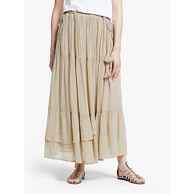 AND/OR Metallic Stripe Sicily Skirt