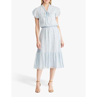 Lauren Ralph Lauren Winda Floral Dress, English Blue