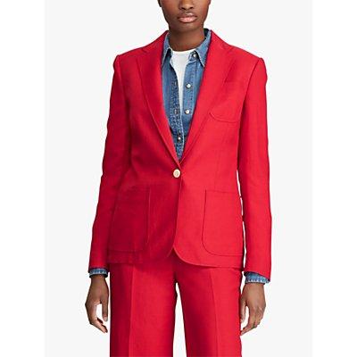 Lauren Ralph Lauren Audryck Jacket, Lipstick Red