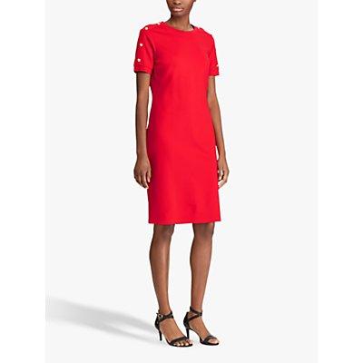 Lauren Ralph Lauren Apissee Dress, Lipstick Red