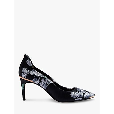 Ted Baker Vyxynp Narnia High Heel Court Shoes, Black/Multi