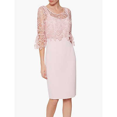 Gina Bacconi Amy Lace Overtop Dress