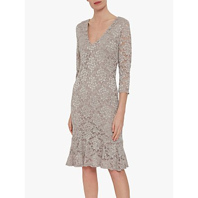 Gina Bacconi Nadalie Tailored Lace Dress