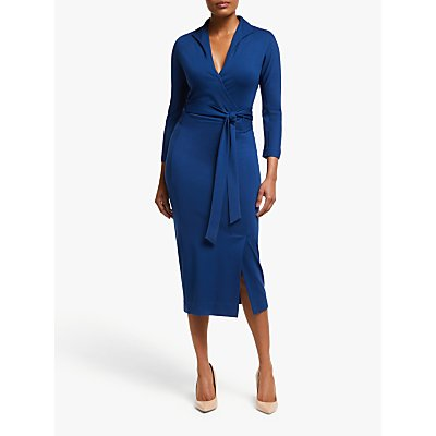 Winser London Wrap Pencil Dress