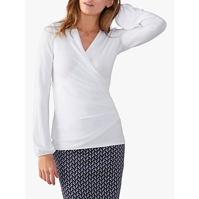 Pure Collection Jersey Wrap Top