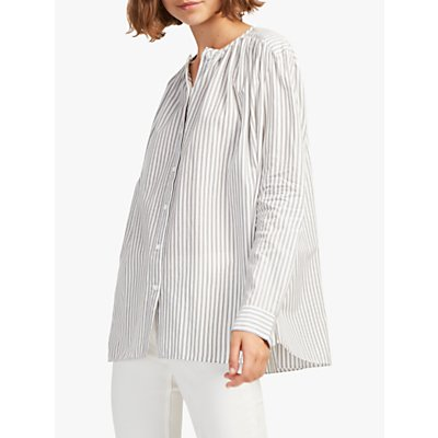 French Connection Clarisse Dye Stripe Shirt, Multi