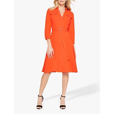 Damsel in a Dress Ennis Long Sleeve Dress, Orange