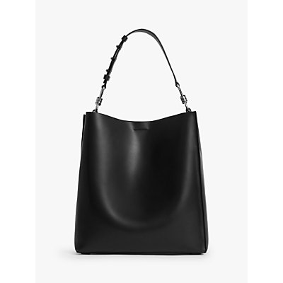 AllSaints Captain Leather North South Tote Bag