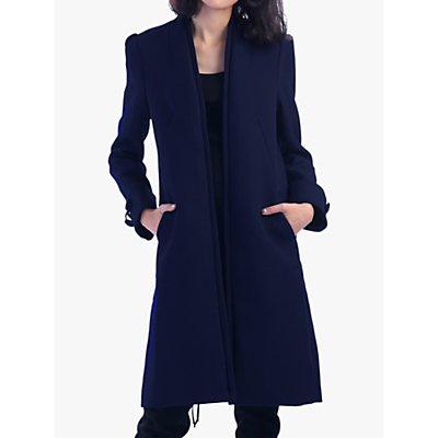 Jolie Moi Open Neckline Coat