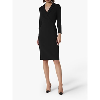 L.K.Bennett Effie Wrap Tailored Dress