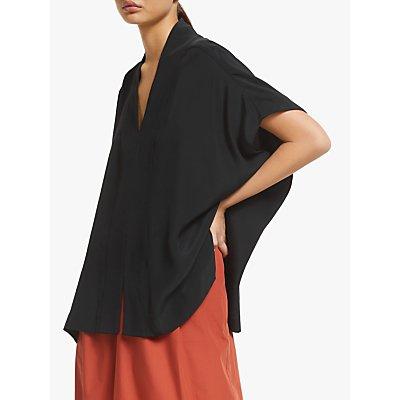 Kin Kimono Kaftan Top, Black