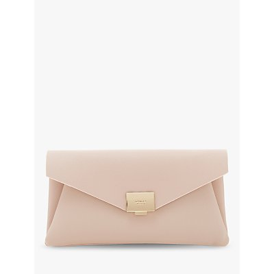 Dune Envela Evening Clutch Bag, Nude