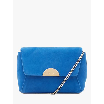 Dune Billiee Suede Clutch Bag