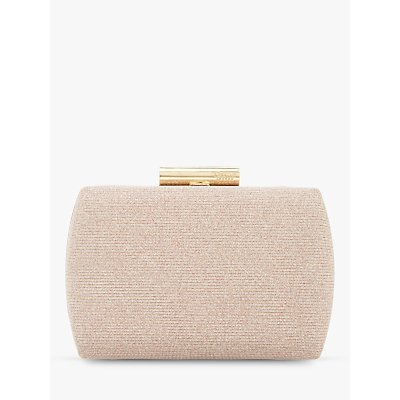 Dune Brights Evening Clutch Bag, Blush