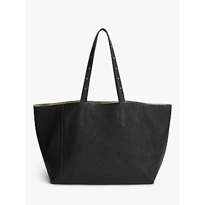 Gerard Darel Simple Two Leather Tote Bag