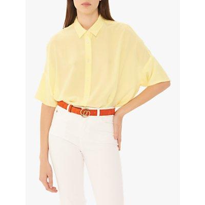 Gerard Darel Elio Silk Blouse, Yellow