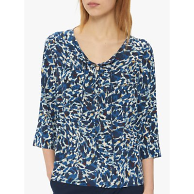 Gerard Darel Elene Blouse, Blue/Multi