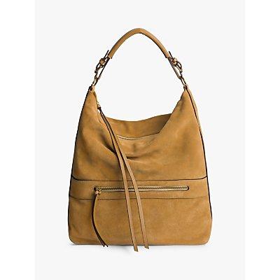 Gerard Darel Today Leather Shoulder Bag, Camel