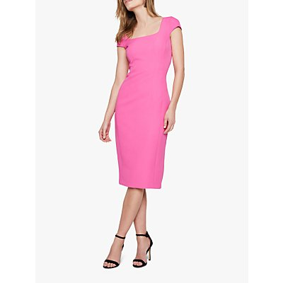 Damsel in a Dress Sheridan Fitted Dress, Pink