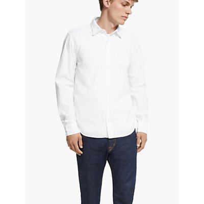 Save Khaki United Easy Poplin Shirt, White