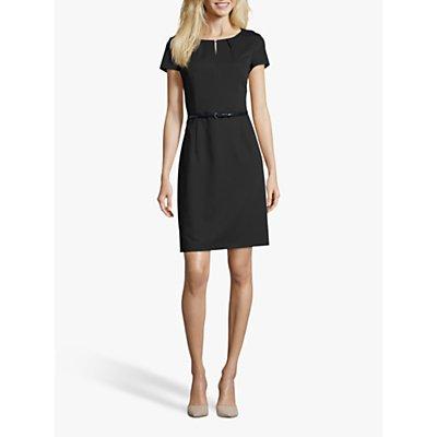 Betty & Co. Belted Shift Dress, Dark Sapphire