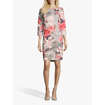 Betty Barclay Floral Jersey Dress, Multi