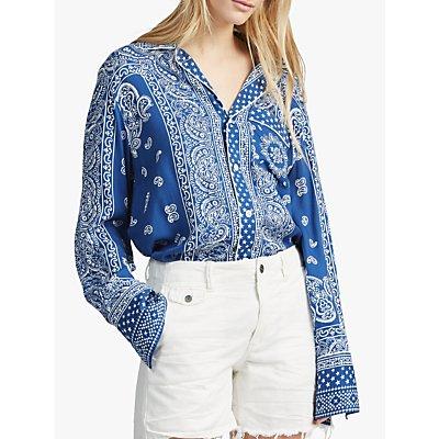 Polo Ralph Lauren Pareo Print Shirt, Blue