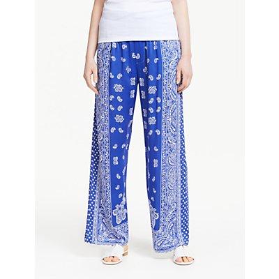 Polo Ralph Lauren Paisley Print Trousers, Blue
