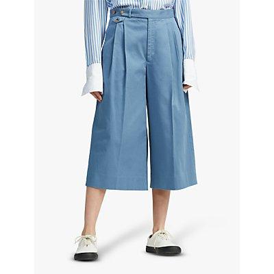 Polo Ralph Lauren Twill Gaucho Trousers, Channel Blue