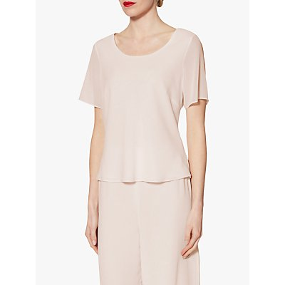 Gina Bacconi Triple Layer Chiffon Top