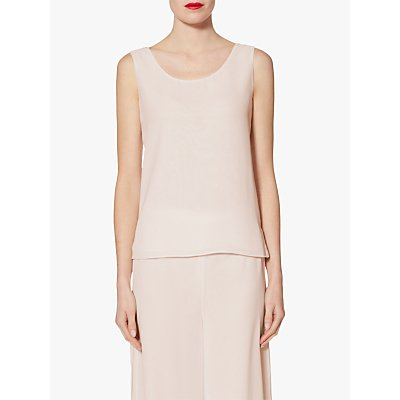 Gina Bacconi Double Layer Chiffon Cami