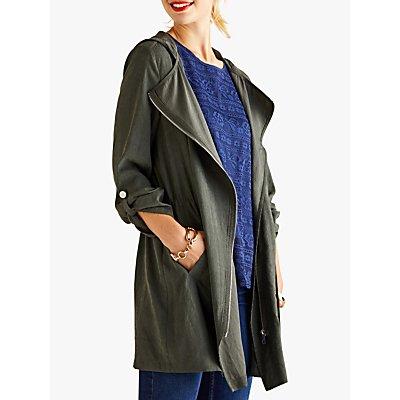 Yumi Military Jacket, Olive