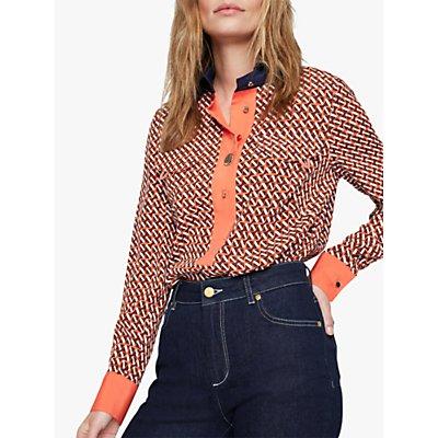 Damsel in a Dress Eden Contrast Shirt, Multi