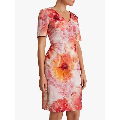 Fenn Wright Manson Petite Floral Coyenna Dress, Peony